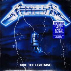 METALLICA - RIDE THE LIGHTNING (1 LP) - WYDANIE AMERYKAŃSKIE