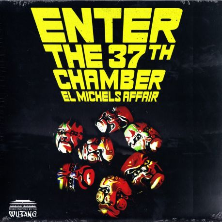 EL MICHELS AFFAIR - ENTER THE 37TH CHAMBER (1 LP) - RED VINYL PRESSING - WYDANIE AMERYKAŃSKIE