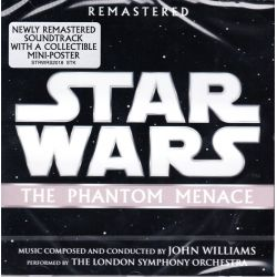 STAR WARS - EPISODE I: THE PHANTOM MENACE (GWIEDNE WOJNY: MROCZNE WIDMO) - JOHN WILLIAMS (1 CD)