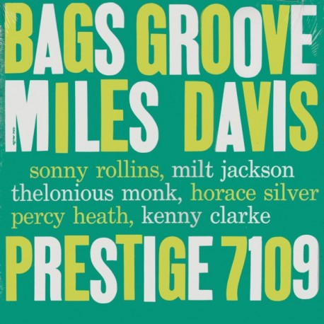 DAVIS, MILES - BAGS GROOVE (1LP)