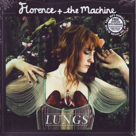 FLORENCE + THE MACHINE - LUNGS (1LP+MP3 DOWNLOAD) - WYDANIE AMERYKAŃSKIE