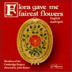 John Rutter - Flora Gave Me Fairest Flowers - English Madrigals (Vinyl LP)