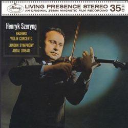 Brahms: Violin Concerto in D - Szeryng/London Symphony Orchestra/Dorati (180g Vinyl LP)
