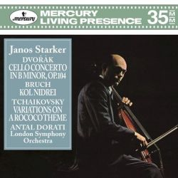 Dvorak: Cello Concerto Bruch: Kol Nidrei - Starker/London Symphony Orchestra/Dorati (180g Vinyl LP)