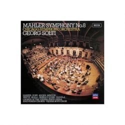 Mahler: Symphony No.8 - Chicago Symphony Orchestra, Georg Solti (Vinyl 2LP)