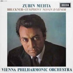 Bruckner: Symphony No.9 in D Minor - Wiener Philharmoniker/Zubin Mehta (180g Vinyl LP)