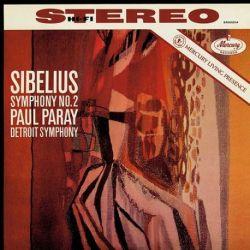 Sibelius: Symphony No.2 in D - Detroit Symphony Orchestra, Paul Paray (180g Vinyl LP)