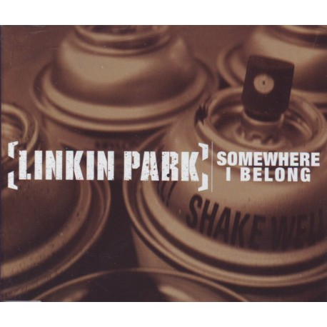 LINKIN PARK - SOMEWHERE I BELONG (CD SINGLE)