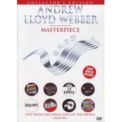 WEBBER, ANDREW LLOYD - MASTERPIECE - LIVE FROM THE GREAT HALL OF THE PEOPLE BEIJING (DVD+CD) - COLLECTOR\'S EDITION - WYDANIE AM