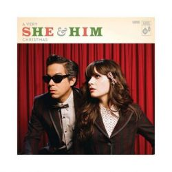 She and Him - A VERY SHE AND HIM CHRISTMAS (Vinyl LP)