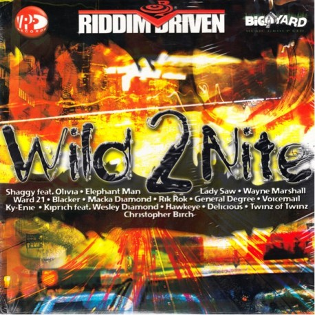 RIDDIM DRIVEN - WILD 2NITE (1LP)