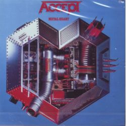 ACCEPT - METAL HEART (1CD) [REMASTERED]