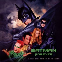 BATMAN FOREVER - U2 / PJ HARVEY / MASSIVE ATTACK / METHOD MAN ... (2 LP)
