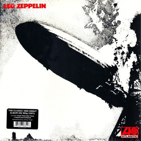 LED ZEPPELIN - I (1LP) - 2014 REMASTERED EDITION - 180 GRAM PRESSING
