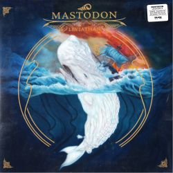 MASTODON - LEVIATHAN (1 LP) - ROYAL BLUE AND BONE WHITE HALF AND HALF WITH SPLATTER VINYL - WYDANIE AMERYKAŃSKIE