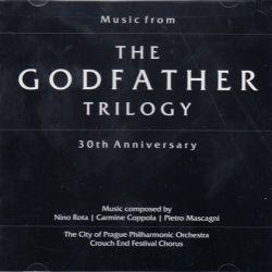 GODFATHER, THE - TRILOGY 30TH ANNIVERSARY I-II-II (1HDCD) - WYDANIE AMERYKAŃSKIE