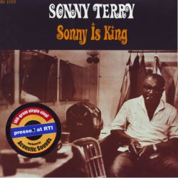 TERRY, SONNY - SONNY IS KING (1LP) - 180 GRAM PRESSING