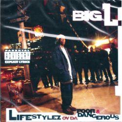 BIG L - LIFESTYLEZ OV DA POOR & DANGEROUS (1 CD) - WYDANIE AMERYKAŃSKIE