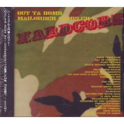 HARDCORE - OUT TA BOMB MAILORDER SAMPLER 1 (1 CD) - WYDANIE JAPOŃSKIE