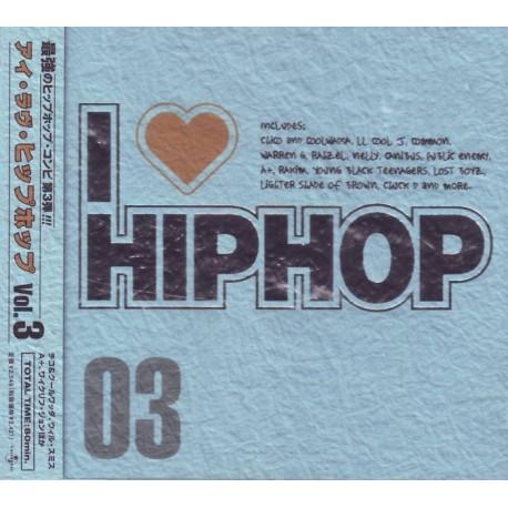 I LOVE HIP HOP VOL.3 - WYDANIE JAPOŃSKIE