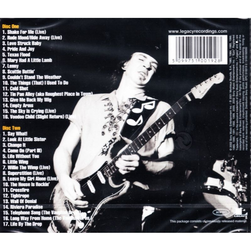 stevie ray vaughan crossfire live dvd