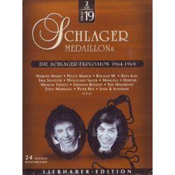 SCHLAGER MEDAILLONS - FOLGE 19 - DIE SCHLAGER EXPLOSION 1964 - 1969 (2CD)