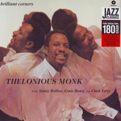 MONK, THELONIOUS - BRILLIANT CORNERS (1 LP) - WAX TIME EDITION - 180 GRAM PRESSING