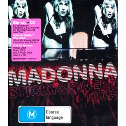 MADONNA - STICKY & SWEET TOUR (1 BLU-RAY + 1 CD)