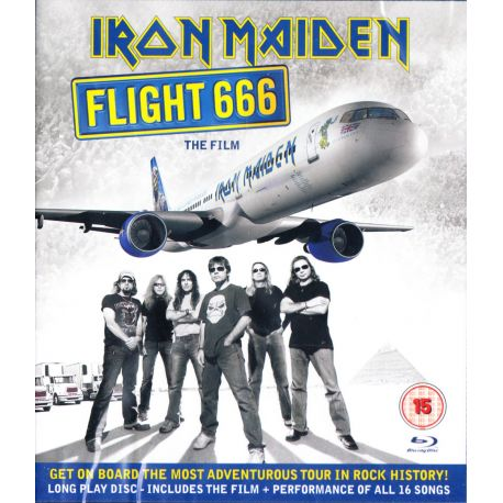 IRON MAIDEN - FLIGHT 666: THE FILM (1 BLU-RAY)