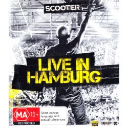 SCOOTER - LIVE IN HAMBURG (1 BLU-RAY)
