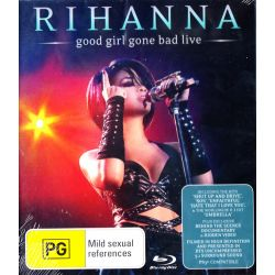 RIHANNA - GOOD GIRL GONE BAD LIVE (1 BLU-RAY)