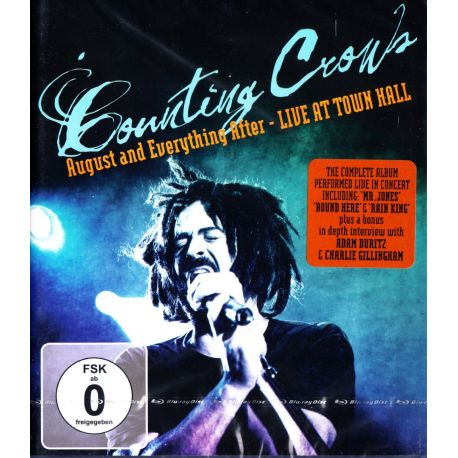 COUNTING CROWS – AUGUST AND EVERYTHING AFTER - LIVE AT TOWN HALL (1 BLU-RAY)