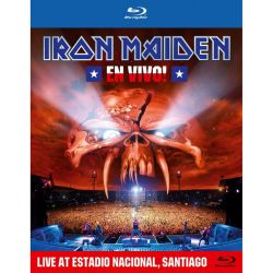 IRON MAIDEN - EN VIVO!: LIVE AT ESTADIO NACIONAL, SANTIAGO (1 BLU-RAY)