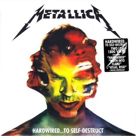 METALLICA - HARDWIRED...TO SELF-DESTRUCT (2 LP + MP3 DOWNLOAD) - 180 GRAM PINK VINYL PRESSING - WYDANIE AMERYKAŃSKIE