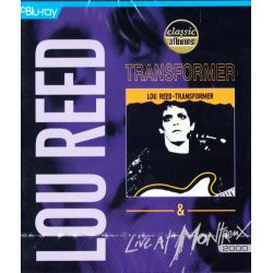 REED, LOU - TRANSFORMER & LIVE AT MONTREUX 2000 (1 BLU-RAY)