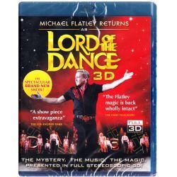FLATLEY, MICHAEL - MICHAEL FLATLEY RETURNS AS LORD OF THE DANCE 3D (1 BLU-RAY)