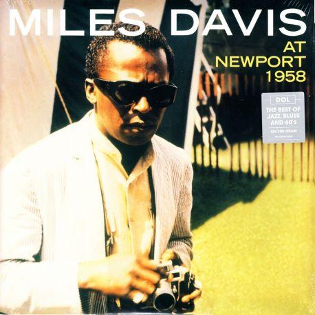 DAVIS, MILES - AT NEWPORT 1958 (1 LP) - 180 GRAM PRESSING