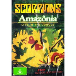 SCORPIONS - AMAZONIA - LIVE IN THE JUNGLE (1 DVD)
