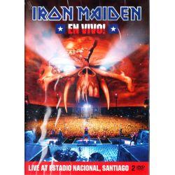 IRON MAIDEN - EN VIVO! - LIVE AT ESTADIO NACIONAL, SANTIAGO (2 DVD)