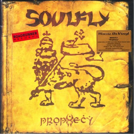 SOULFLY - PROPHECY (2 LP) - GOLD & BLACK MIXED MOV EDITION 180 GRAM VINYL PRESSING