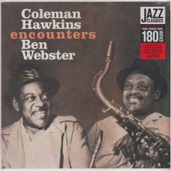 HAWKINS, COLEMAN / WEBSTER, BEN - ENCOUNTERS (1LP) - 180 GRAM PRESSING