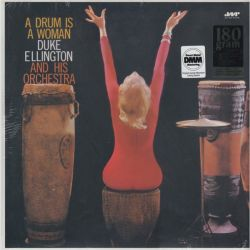 ELLINGTON, DUKE AND HIS ORCHESTRA - A DRUM IS A WOMAN (1 LP) - JAZZ WAX EDITION - 180 GRAM PRESSING