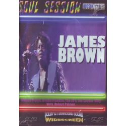 BROWN, JAMES - SOUL SESSION (1DVD)