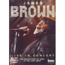 BROWN, JAMES - LIVE IN CONCERT (1DVD)