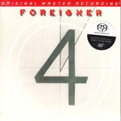 FOREIGNER - 4 (1 SACD) - LIMITED NUMBERED MFSL EDITION - WYDANIE AMERYKAŃSKIE