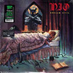 DIO - DREAM EVIL (1 LP) - RHINO ROCKTOBER EDITION - GREEN VINYL - WYDANIE AMERYKAŃSKIE