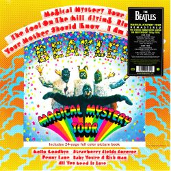 BEATLES, THE - MAGICAL MYSTERY TOUR (1 LP) - [2012 REMASTER] - 180 GRAM PRESSING