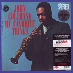 COLTRANE, JOHN - MY FAVORITE THINGS (1LP) - RHINO VINYL EDITION - 180 GRAM PRESSING