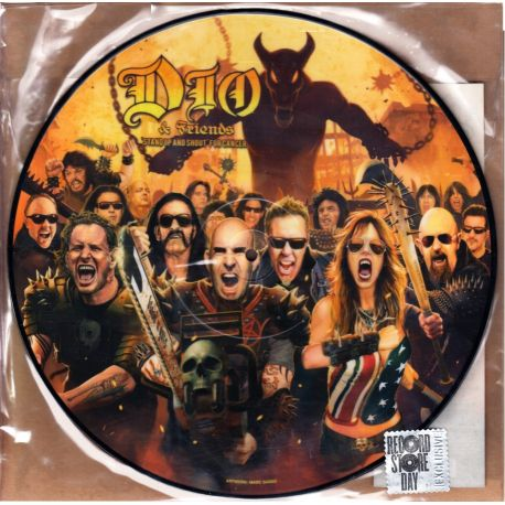 DIO & FRIENDS - STAND UP AND SHOUT FOR CANCER (1 LP) - R.S.D. EXCLUSIVE PICTURE DISC