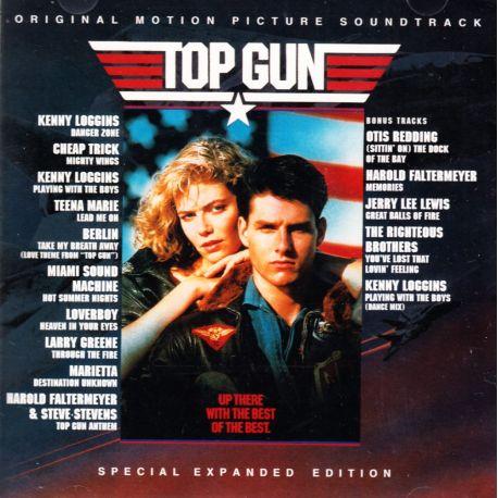 TOP GUN - KENNY LOGGINS / BERLIN / CHEAP TRICK ... (1 CD) - SPECIAL EXPANDED EDITION - WYDANIE AMERYKAŃSKIE